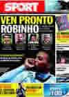 Portada diario Sport del 6 de Noviembre de 2009