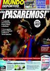 Portada Mundo Deportivo del 6 de Noviembre de 2009