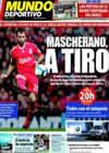 Portada Mundo Deportivo del 7 de Noviembre de 2009