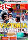 Portada diario AS del 8 de Noviembre de 2009