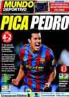 Portada Mundo Deportivo del 8 de Noviembre de 2009
