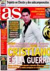 Portada diario AS del 9 de Noviembre de 2009