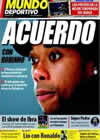 Portada Mundo Deportivo del 9 de Noviembre de 2009