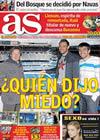 Portada diario AS del 10 de Noviembre de 2009