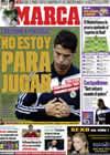 Portada diario Marca del 10 de Noviembre de 2009