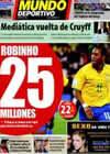 Portada Mundo Deportivo del 10 de Noviembre de 2009