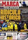 Portada diario Marca del 11 de Noviembre de 2009