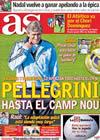 Portada diario AS del 12 de Noviembre de 2009