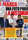 Portada diario Marca del 12 de Noviembre de 2009