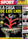 Portada diario Sport del 12 de Noviembre de 2009