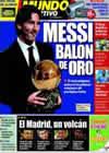 Portada Mundo Deportivo del 12 de Noviembre de 2009