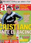 Portada diario AS del 13 de Noviembre de 2009