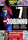 Portada Mundo Deportivo del 13 de Noviembre de 2009