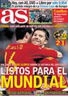 Portada diario AS del 15 de Noviembre de 2009