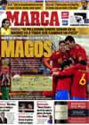 Portada diario Marca del 15 de Noviembre de 2009
