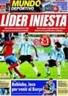 Portada Mundo Deportivo del 15 de Noviembre de 2009
