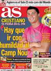 Portada diario AS del 16 de Noviembre de 2009