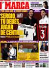 Portada diario Marca del 16 de Noviembre de 2009