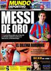 Portada Mundo Deportivo del 17 de Noviembre de 2009