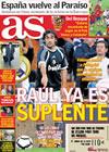 Portada diario AS del 18 de Noviembre de 2009