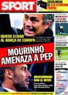 Portada diario Sport del 18 de Noviembre de 2009