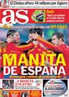 Portada diario AS del 19 de Noviembre de 2009