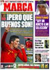 Portada diario Marca del 19 de Noviembre de 2009