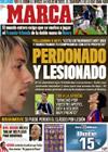 Portada diario Marca del 20 de Noviembre de 2009