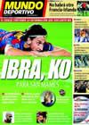 Portada Mundo Deportivo del 20 de Noviembre de 2009