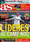 Portada diario AS del 22 de Noviembre de 2009