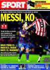 Portada diario Sport del 22 de Noviembre de 2009
