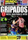 Portada Mundo Deportivo del 22 de Noviembre de 2009