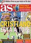 Portada diario AS del 23 de Noviembre de 2009