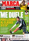 Portada diario Marca del 23 de Noviembre de 2009