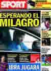 Portada diario Sport del 23 de Noviembre de 2009
