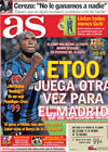 Portada diario AS del 24 de Noviembre de 2009