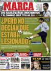 Portada diario Marca del 24 de Noviembre de 2009