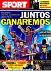 Portada diario Sport del 24 de Noviembre de 2009
