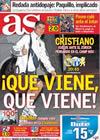 Portada diario AS del 25 de Noviembre de 2009