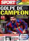 Portada diario Sport del 25 de Noviembre de 2009