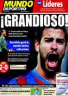 Portada Mundo Deportivo del 25 de Noviembre de 2009