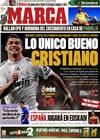 Portada diario Marca del 26 de Noviembre de 2009
