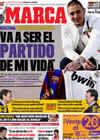 Portada diario Marca del 28 de Noviembre de 2009