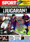 Portada diario Sport del 28 de Noviembre de 2009