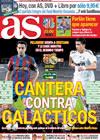 Portada diario AS del 29 de Noviembre de 2009