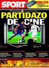 Portada diario Sport del 29 de Noviembre de 2009
