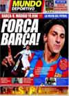 Portada Mundo Deportivo del 29 de Noviembre de 2009
