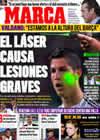 Portada diario Marca del 1 de Diciembre de 2009