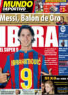 Portada Mundo Deportivo del 1 de Diciembre de 2009