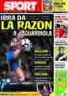 Portada diario Sport del 4 de Diciembre de 2009